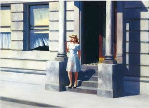 Reproduction oil paintings - Edward Hopper - Summertime