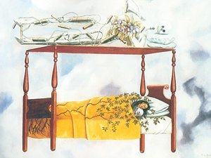 Reproduction oil paintings - Frida Kahlo - The Dream