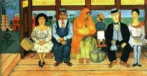 Reproduction oil paintings - Frida Kahlo - El Autobus