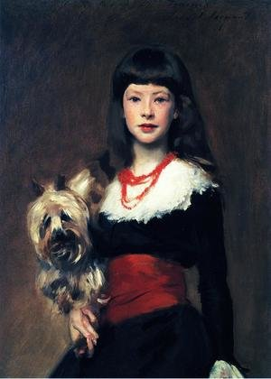 Reproduction oil paintings - Sargent - Beatrice Townsend