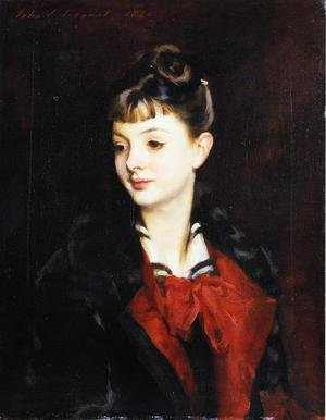 Reproduction oil paintings - Sargent - Mademoiselle Suzanne Poirson