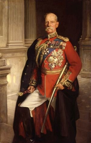 Famous paintings of Men: Field Marshal Earl Roberts, K.G., V. C.
