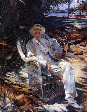 Reproduction oil paintings - Sargent - Charles Deering