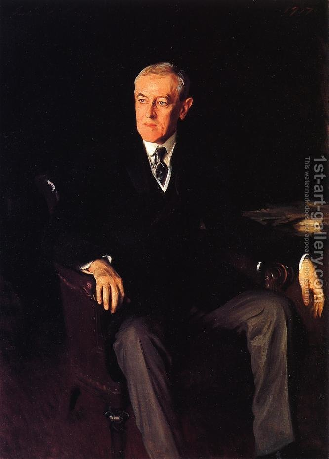 Huge version of President Woodrow Wilson