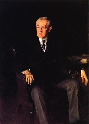 Reproduction oil paintings - Sargent - President Woodrow Wilson