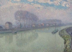 Reproduction oil paintings - Henri Lebasque - The Marne at Pomponne, Morning