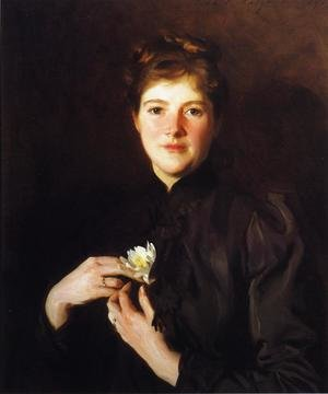 Reproduction oil paintings - Sargent - Mrs. Augustus Hemenway