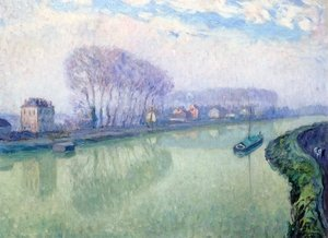 Reproduction oil paintings - Henri Lebasque - The Marne at Ponponne
