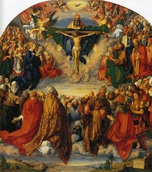 Reproduction oil paintings - Albrecht Durer - Adoration of the Trinity