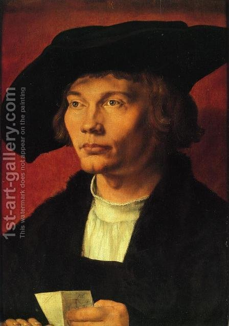 Bernhard von Deesen by Albrecht Durer - Reproduction Oil Painting