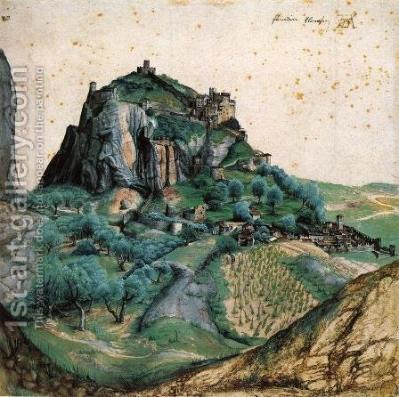 View of Arco by Albrecht Durer - Reproduction Oil Painting
