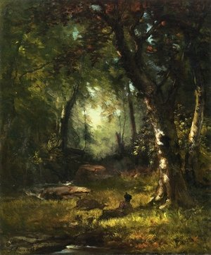 Reproduction oil paintings - George Inness - The Huntsman