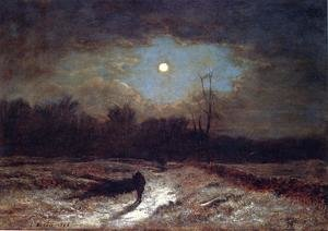 Reproduction oil paintings - George Inness - Christmas Eve