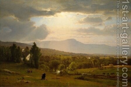 George Inness: Catskill Mountains - reproduction oil painting
