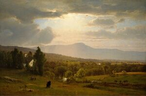 Reproduction oil paintings - George Inness - Catskill Mountains