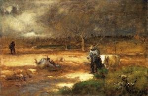 Reproduction oil paintings - George Inness - Homeward