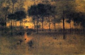 George Inness reproductions - The Home of the Heron