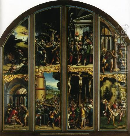 The Passion by Hans, the Younger Holbein - Reproduction Oil Painting