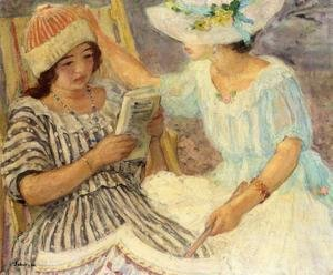 Reproduction oil paintings - Henri Lebasque - Marthe and Nono