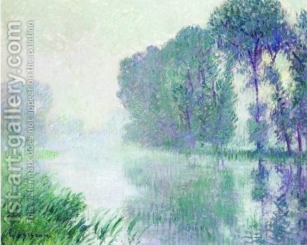Fog, Morning Effect by Gustave Loiseau - Reproduction Oil Painting