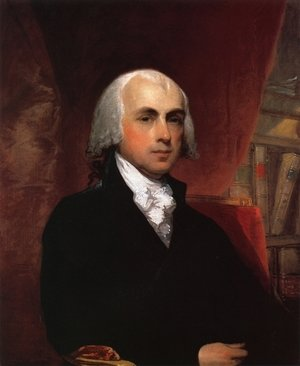 Famous paintings of Portraits: James Madison