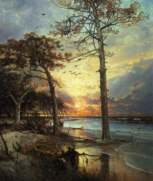 Reproduction oil paintings - William Trost Richards - At Atlantic City