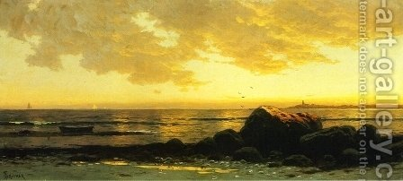 Seascape I by Alfred Thompson Bricher - Reproduction Oil Painting