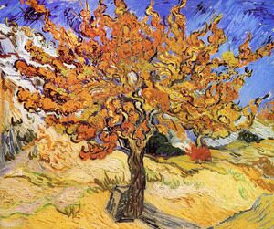 Famous paintings of Trees: Mulberry Tree