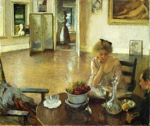 Famous paintings of Furniture: The Breakfast Room