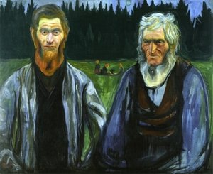 Reproduction oil paintings - Edvard Munch - Generations