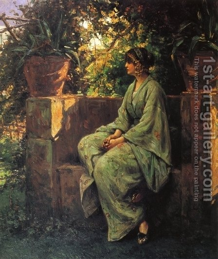 Siesta by Henry Mosler - Reproduction Oil Painting