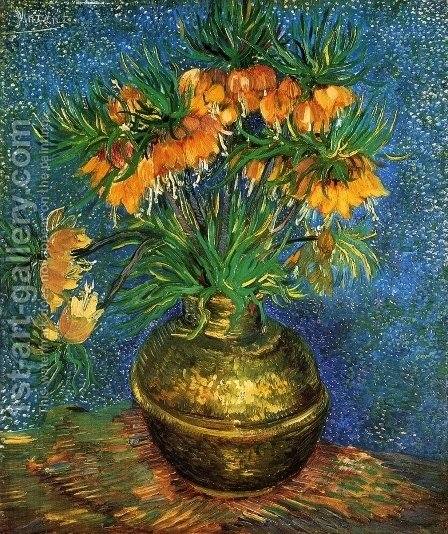 Still Life with Frutillarias by Vincent Van Gogh - Reproduction Oil Painting