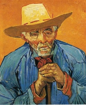 Reproduction oil paintings - Vincent Van Gogh - The Peasant, Portrait of Patience Escalier