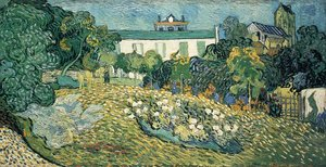 Reproduction oil paintings - Vincent Van Gogh - Daubigny's Garden I
