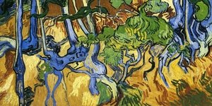 Reproduction oil paintings - Vincent Van Gogh - Roots and Tree Trunks