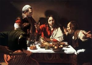 Reproduction oil paintings - Caravaggio - Supper at Emmaus