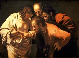Reproduction oil paintings - Caravaggio - Doubting Thomas