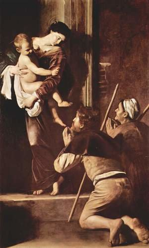 Reproduction oil paintings - Caravaggio - Madona di Loreto