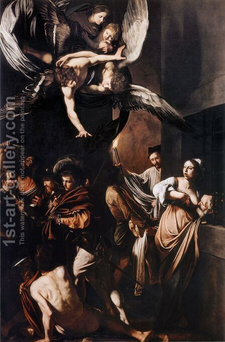 Caravaggio: Seven Works of Mercy - reproduction oil painting