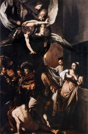 Reproduction oil paintings - Caravaggio - Seven Works of Mercy