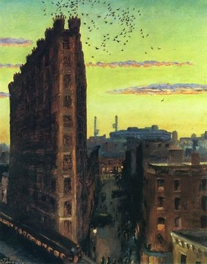 Reproduction oil paintings - John Sloan - Cornelia Street
