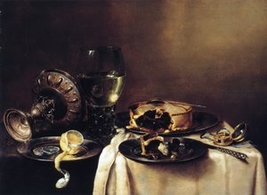 Famous paintings of Desserts: A Still Life