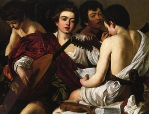 Reproduction oil paintings - Caravaggio - The Concert