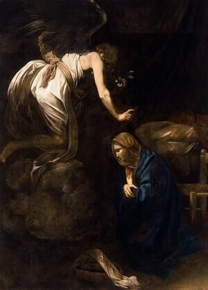 Reproduction oil paintings - Caravaggio - The Annunciation