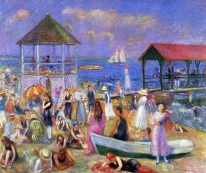 Beach Scene, New London