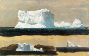 Famous paintings of Ice: Icebergs, Twillingate, Newfoundland