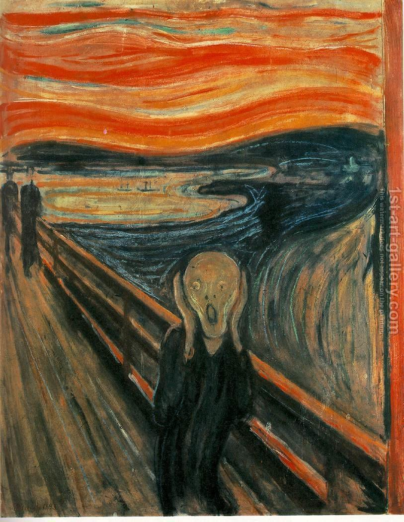 Huge version of The Scream
