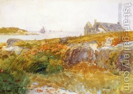 Isles of Shoals III by Frederick Childe Hassam - Reproduction Oil Painting