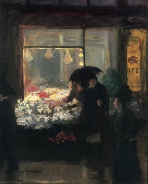 Reproduction oil paintings - John Sloan - Easter Eve