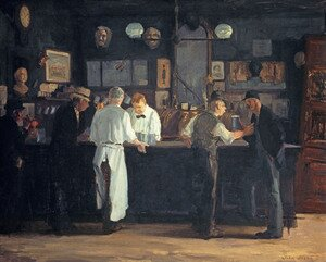 John Sloan reproductions - McSorley's Bar